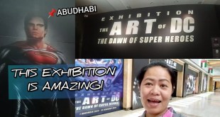 THE ART OF DC - THE DAWN OF SUPER HEROES EXHIBITION ABUDHABI