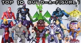 Top 10 Marvel Legends BAFs (Build-A-Figures)