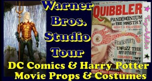 Warner Brothers Studio Tour ~ DC Comics & Wizarding World Props and Costumes Exhibit ~ Toy-Addict