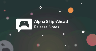 Xbox Insider Release Notes - Alpha Skip-Ahead Ring (2005.200418-0000)