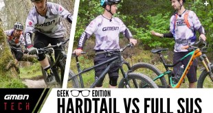 Full Suspension Vs Hardtail | GMBN Tech Geek Edition