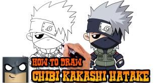 How to Draw Kakashi Hatake | Naruto