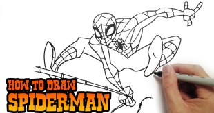 How to Draw Spiderman | Drawing Tutorial