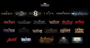 Marvel Cinematic Universe  All movie title cards