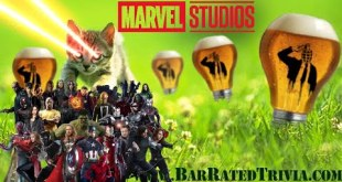Marvel Cinematic Universe TRIVIA from Bar Rated Trivia THEME GAME THURSDAY
