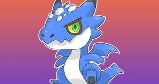 Meet Dragnaur, the Blue Dragon of Newzar region!  Type: Dragon / Flyin...