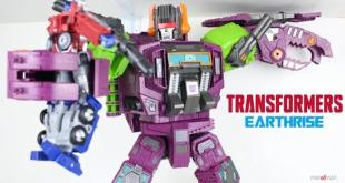 New Video Review of Transformers Earthrise Titan Class Scorponok