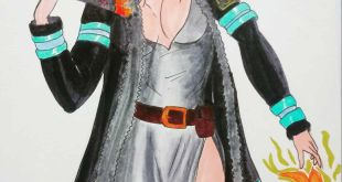 Princess Hibana- Fire force                           ...