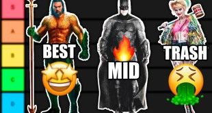 Ranking All DCEU Movies From Best To Worse!
