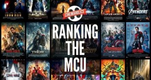 Ranking the Marvel Cinematic Universe Movies