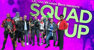 Squad Up!  The Suicide Squad Cosplay Contest Winners' Dream Trip to SDCC