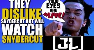 They Dislike The Snyder Cut Yet Still Watch It? | DCEU Release the SnyderCut Is Released