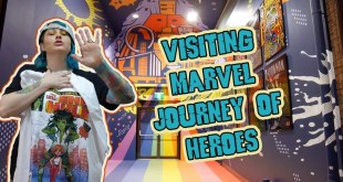 VLOG- Visiting the Marvel Comics Exhibition & Repairing My Record Player