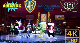 WB 360 Video  | Warner bros. World Abu Dhabi | meet warner bros cartoons characters | P2