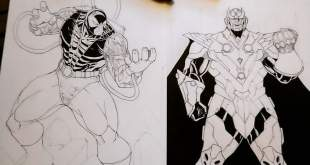 WIP of Bane and Thanos :D                                         ...