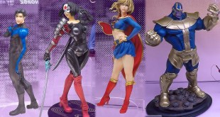 2017 New York Comic Con Kotobukiya Booth Tour NYCC Bishoujo Artfx Statues Video