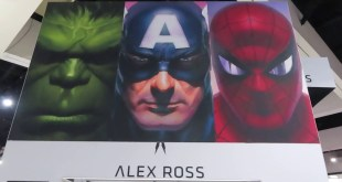Alex Ross Booth SDCC 2019