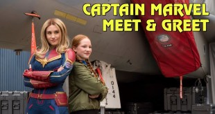 Captain Marvel Meet & Greet at Disney California Adventure