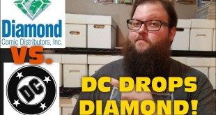 DC COMICS DROPS DIAMOND COMICS DISTRIBUTION!