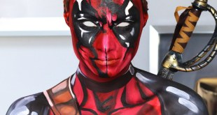 Deadpool Makeup Tutorial/Cosplay How To (Marvel)