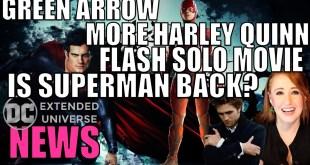 Henry Cavill as Superman Again, New Flash, No Lex: DCEU News