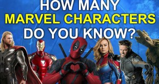 How Many Marvel Characters Do You Know?   65 Marvel Characters   Challenge/Quiz