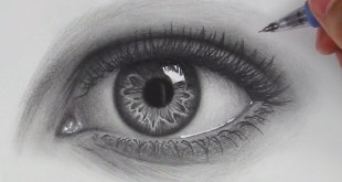 How to Draw Hyper Realistic Eyes - Art Video Tutorial