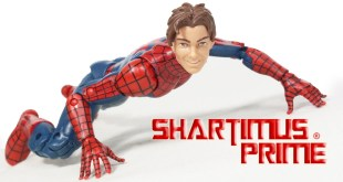 Marvel Legends Peter Parker Ultimate Spider-Man Space Venom BAF 2016 Toy Action Figure Review