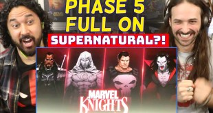 Marvel PHASE 5 MIDNIGHT SONS! GHOST RIDER, Elsa Bloodstone, Blade, Doctor Strange - REACTION!