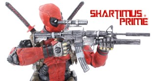 NECA Deadpool 1:4 Scale Marvel Comics Action Figure Toy Review