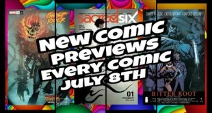 New Comics July 8th 2020 Previews Every Comic Book And Publisher