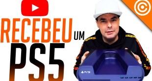 O Youtuber que RECEBEU um PS5