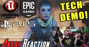 Unreal Engine 5 Tech Demo on PS5 - Angry Trailer Reaction!
