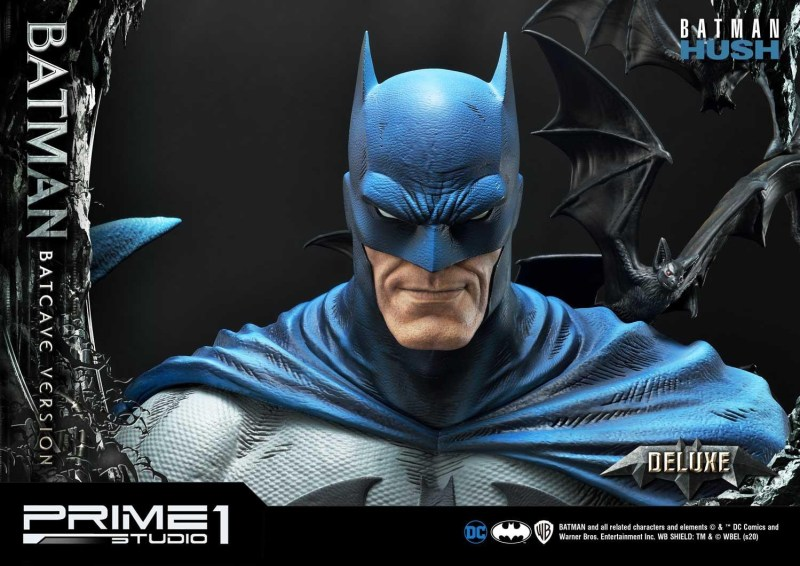 Batman Batcave Deluxe Version head