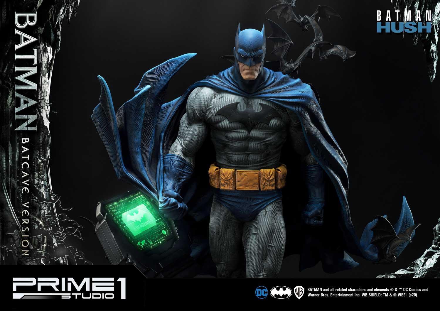 Batman Hush Statue 1 3 Batman Batcave Deluxe Version Epicheroes Movie Trailers Toys Tv Video Games News Art