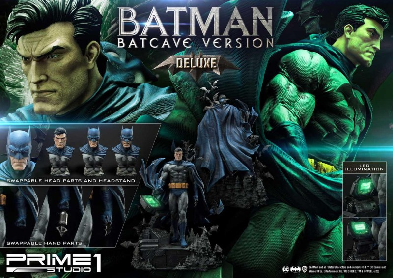 Batman Batcave Deluxe Version all