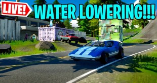 🔴 *NEW* FORTNITE WATER LEVEL DROPPING RIGHT NOW!!!, DRIVING CARS??? COME JOIN IN (FORTNITE LIVE)