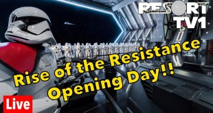 🔴Live: OPENING DAY - Star Wars Rise of the Resistance at Walt Disney World - 1080p - 12-5-19