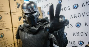Adam Savage as Kylo Ren Incognito at Comic-Con 2016!