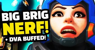 BIG BRIG NERF! - HUGE Dva BUFFS?! | Overwatch Experimental Update!