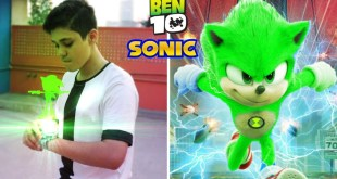 Ben 10 Transforming into Sonic The Hedgehog | Fan Made Short Film
