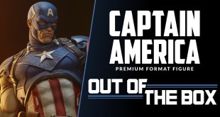 Captain America Premium Format™ Figure: Out of the Box - Exclusive Edition