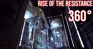 Disney World Ride Videos | Rise of the Resistance Ride 360° | Star Wars Ride Walt Disney World