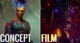 Dormammu: CONCEPT ART vs FILM