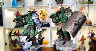 Gladiator Hulk Statue Sideshow Premium Format Unboxing