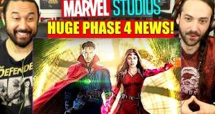 HUGE MARVEL PHASE 4 NEWS! WandaVision Falcon And The Winter Soldier Shang Chi - REACTION!