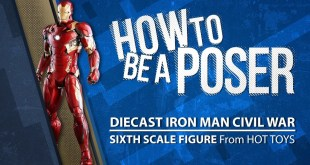 How to be a Poser - Hot Toys' Diecast Iron Man from Civil War