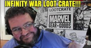 INFINITY WAR GOODIES! Marvel Gear + Goods Loot Crate June 2018!