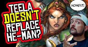 Kevin Smith DENIES Netflix He-Man Series is About Teela... AGAIN.
