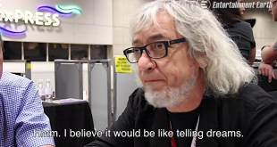 Luis Royo Interview SDCC 2015 - English Subtitles